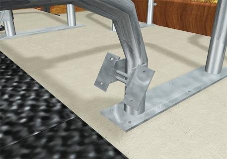 Brisket Board Fastener, Mounting Angle