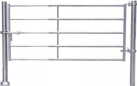 Poartă ușoară (2/3), 5 tubes,mounted length 195 - 295 cm