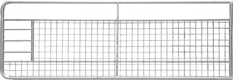 Poarta fixa cu plasa de sarma, l=3.50 m, inaltime 1.0m, galvanizat