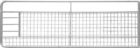 Poarta cu plasa, l=6 m, inaltime 1.0m, galvanizat