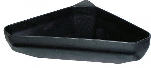 Plastic Corner Trough, wide,capacity 21 l