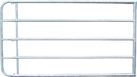 Poarta reglabila, 1.10 m inaltime, 5.05 - 6.00 m, galvanizat