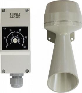 Sistem de alarma pentru incalzitorul de circulatie