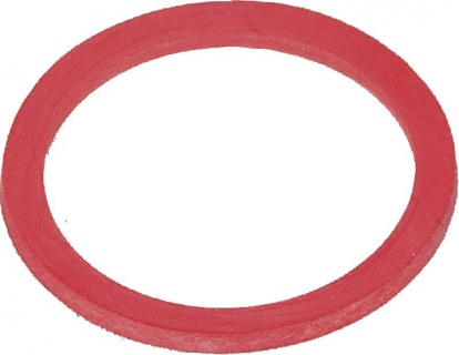 Gasket Ring, red, for calf bucket,plastic