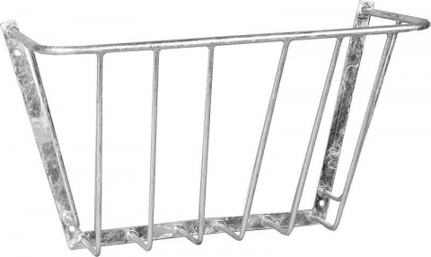 Wall Mount Hay Rack, small, 530 mm,galvanised