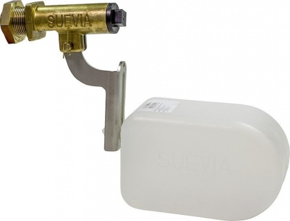 """Float Valve Mod. 674for Suevia water troughs 3/4"""" connection, 1 - 4 bars"""