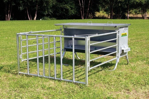 Concentrate Feeder with Calf Creep,900 litres