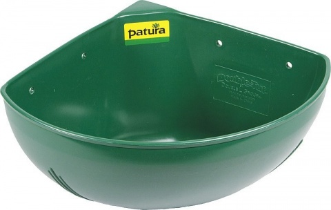 Plastic Corner Trough, small,capacity 16 l